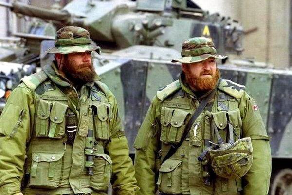 Бородатые солдаты