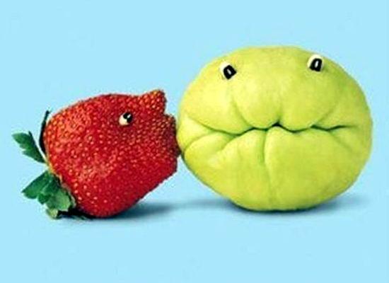 Фигурки из фруктов и овощей 05 dobrosos