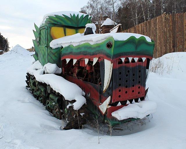 Трактор дракон
