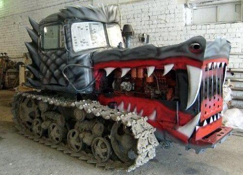 Трактор - дракон