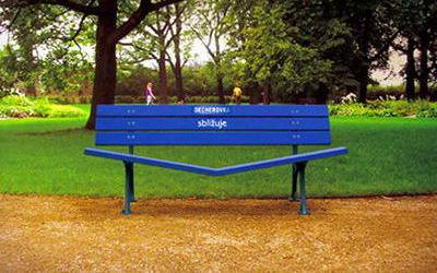 Необычные скамейки 14 dobrosos