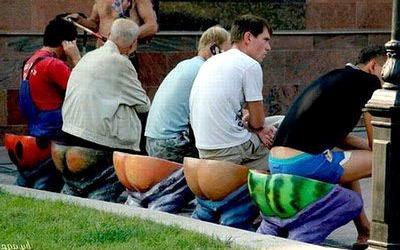 Необычные скамейки 24 dobrosos
