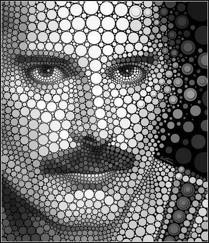 Работы Ben Heine рисунки из кругов dobrosos