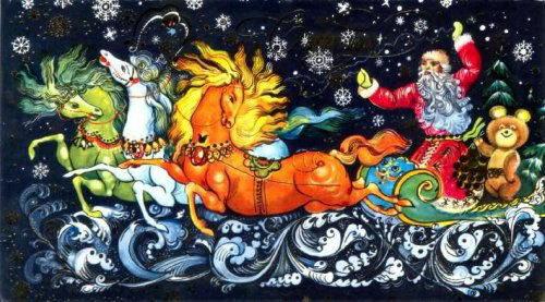 Советские новогодние открытки 21 dobrosos