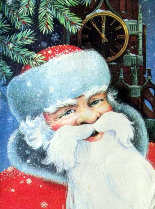 Советские новогодние открытки 32 dobrosos