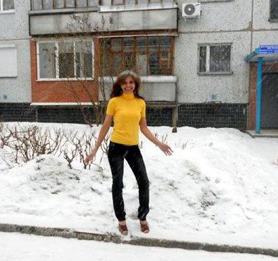 Женщина которой не холодно 5 dobrosos