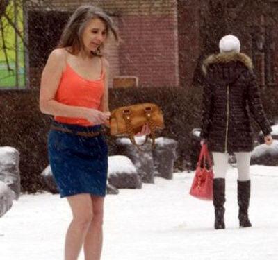 Женщина которой не холодно 6 dobrosos