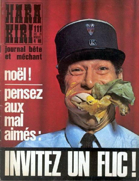 французский журнал Хара-кири 10 dobrosos