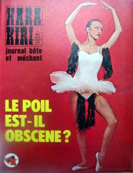французский журнал Хара-кири 2 dobrosos