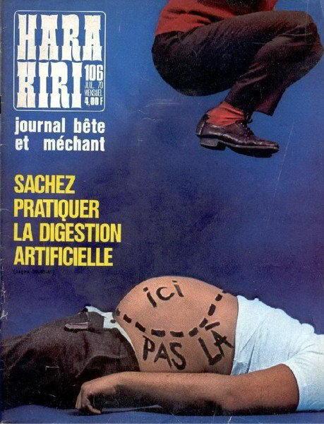 французский журнал Хара-кири 3 dobrosos