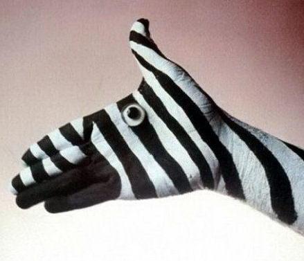 Боди-арт на пальцах и кистях рук 11 dobrosos