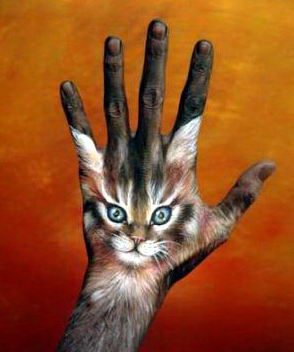 Боди-арт на пальцах и кистях рук 14 dobrosos