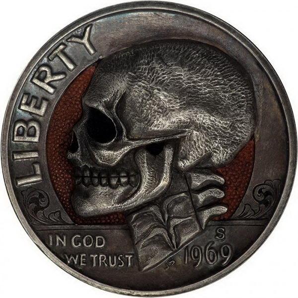 Монеты ручной работы 02 dobrosos