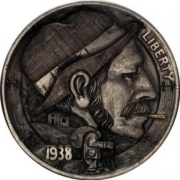 Монеты ручной работы 09 dobrosos
