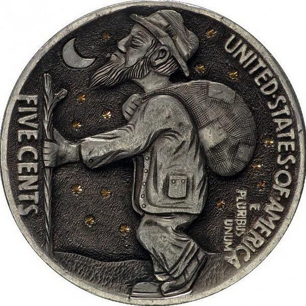 Монеты ручной работы 10 dobrosos