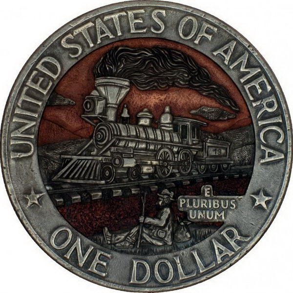 Монеты ручной работы 11 dobrosos