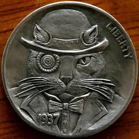 Монеты ручной работы 13 dobrosos