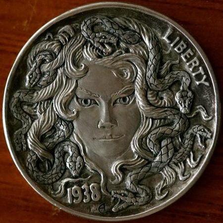 Монеты ручной работы 16 dobrosos