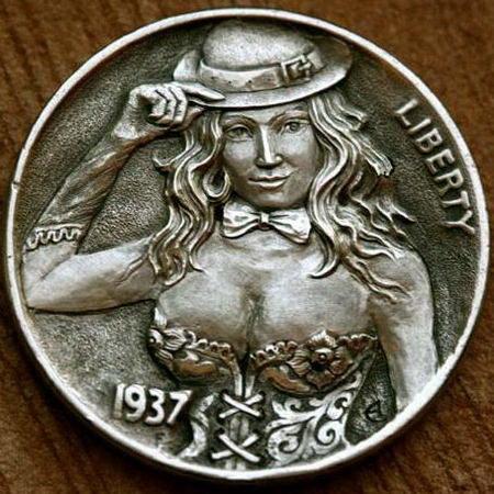 Монеты ручной работы 17 dobrosos