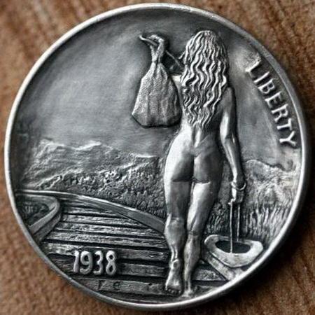 Монеты ручной работы 18 dobrosos