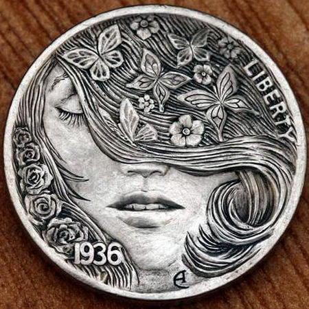 Монеты ручной работы 19 dobrosos