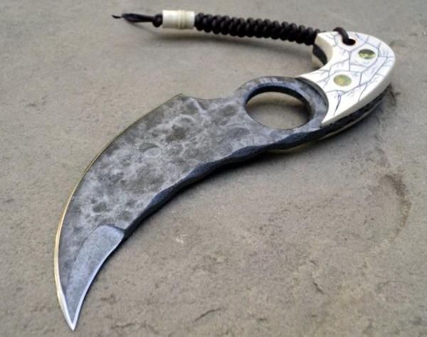 Необычные ножи ручной работы 24 dobrosos