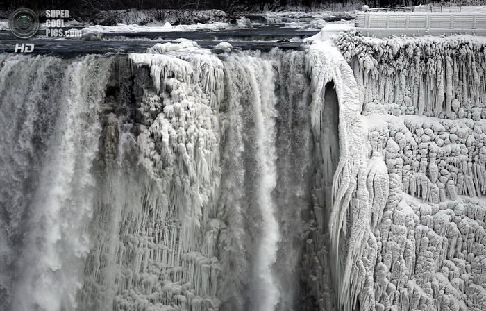 Ниагарский водопад во льдах 01 dobrosos