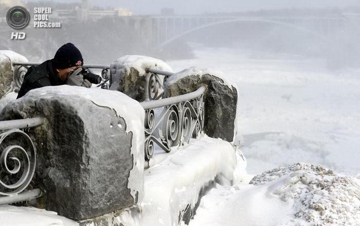 Ниагарский водопад во льдах 10 dobrosos