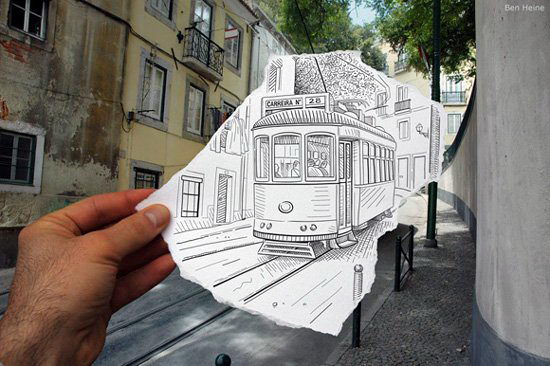 Искусство Бена Гейне — рисунок плюс фото (продолжение)
