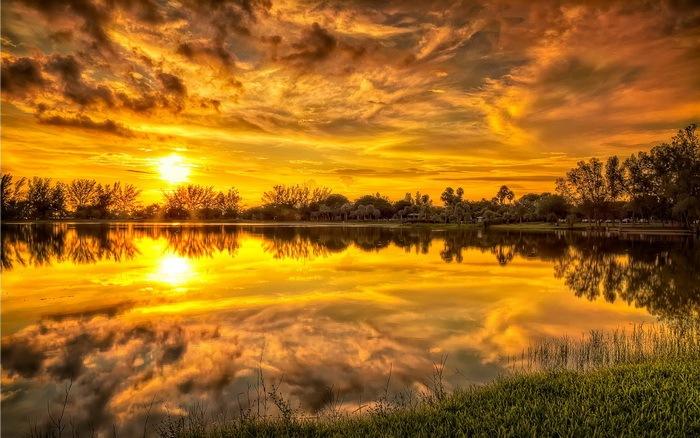 Красивые закаты (14 фото)