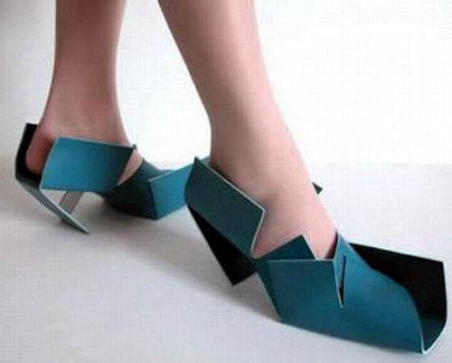 Креативная сумасшедшая обувь 02