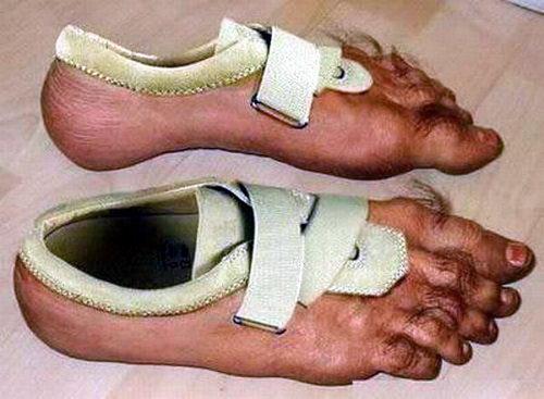 Креативная сумасшедшая обувь 04