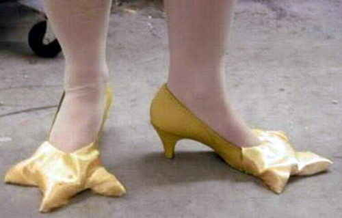 Креативная сумасшедшая обувь 05