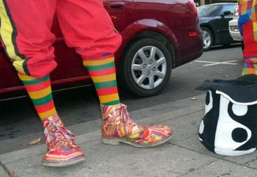 Креативная сумасшедшая обувь 10