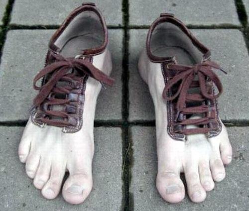 Креативная сумасшедшая обувь 11