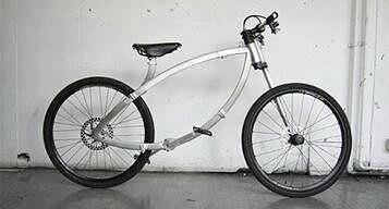 Очень компактный велосипед
