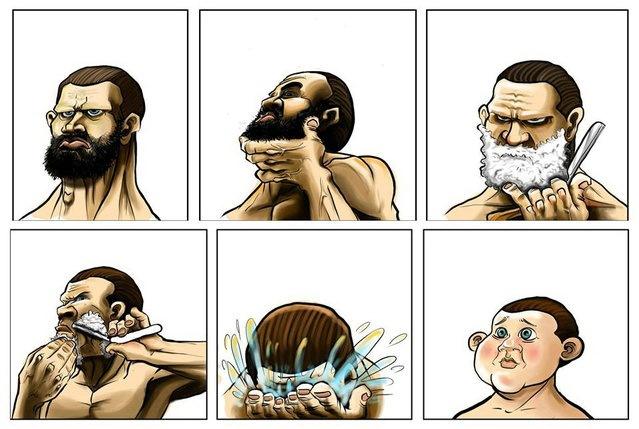С бородой или без бороды 01
