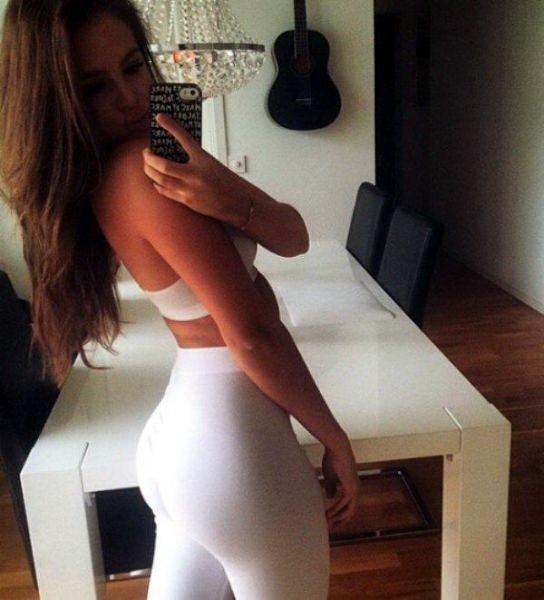 девушки попа фитнес 61
