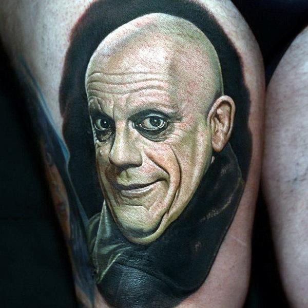 татуировки портреты 02