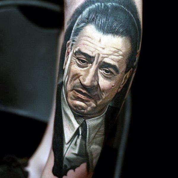 татуировки портреты 03