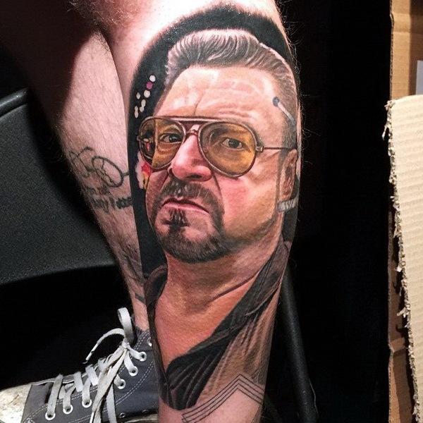 татуировки портреты 05