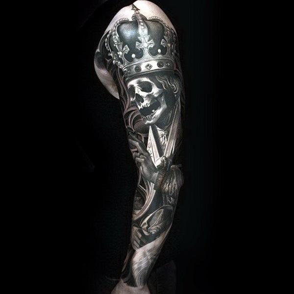 татуировки портреты 06