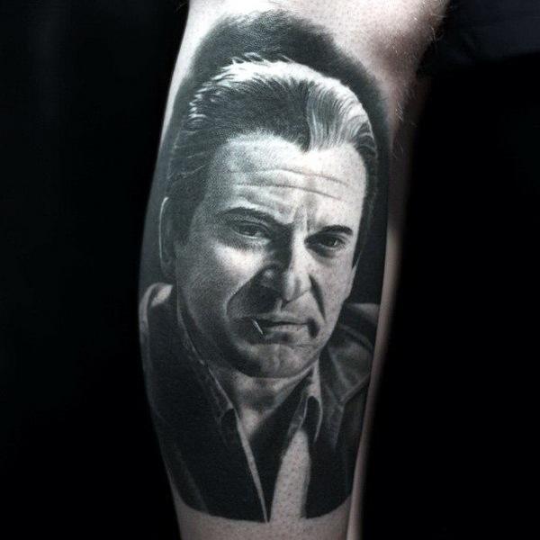 татуировки портреты 10