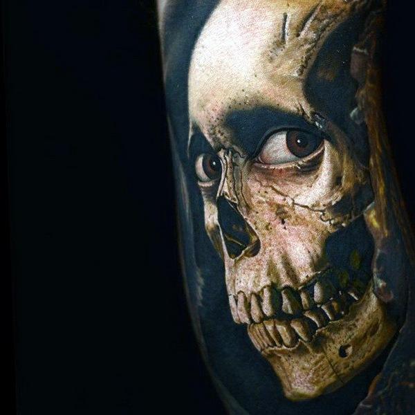 татуировки портреты 11