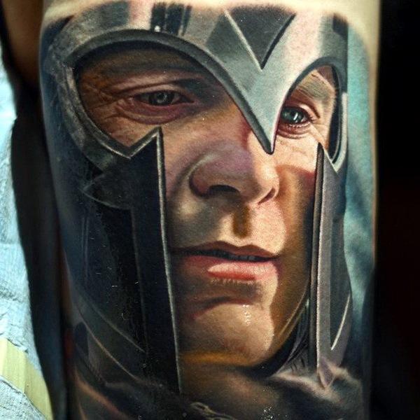 татуировки портреты 13