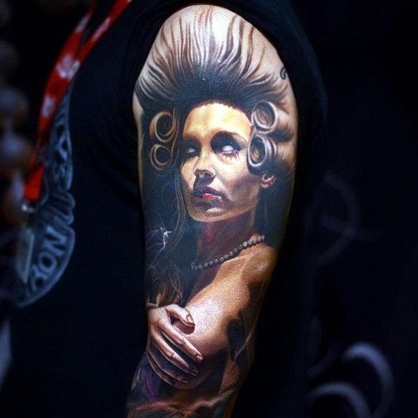татуировки портреты 14