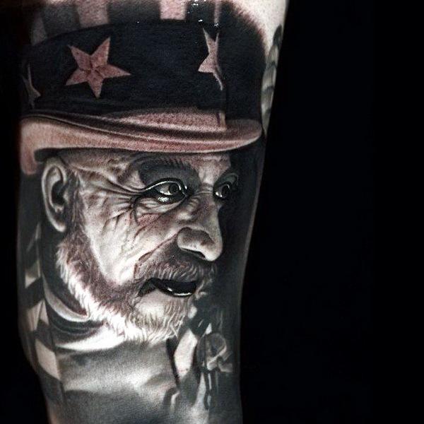 татуировки портреты 17