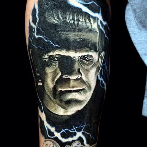 татуировки портреты 20
