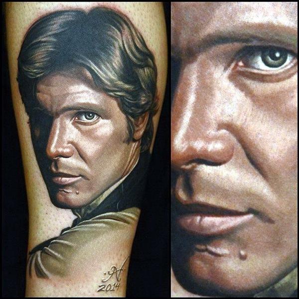 татуировки портреты 23