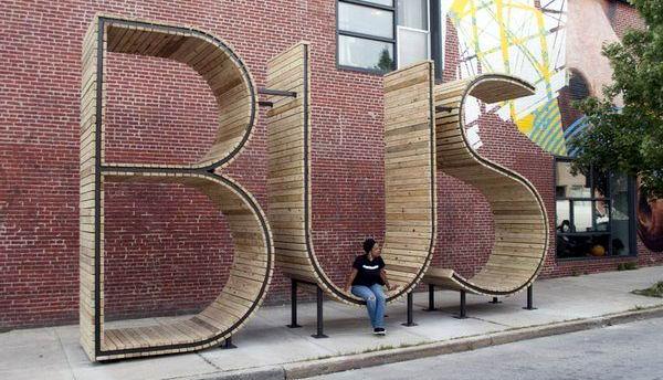 Оригинальные скамейки 09 dobrosos